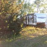 Hershey beach camping area
