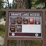 Granite lake access