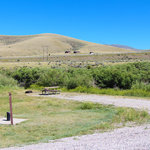 Beaverhead river campground clark canyon reservoir