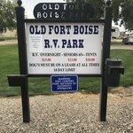 Old fort boise rv park