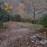 Blue ridge roadside campsite