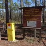 Hagar landing primitive campsites