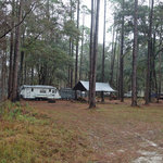 Brown house hunt camp