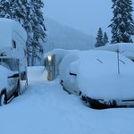 Stevens pass ski resort rv parking