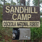 Sandhill hunt camp