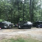 River falls at the gorge rv park