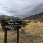 Baylor pass west trailhead