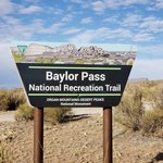 Baylor pass west trailhead