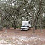 Bennett field campground