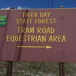 Tram road equestrian campground