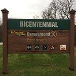 Bicentennial campsite
