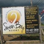 Swan bay rv resort marina
