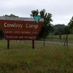 Cowboy camp cache creek natural area
