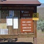 Burnt ranch beach recreation site