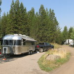 Riverside campground caribou targhee nf
