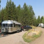 Riverside campground caribou targhee nf