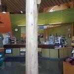 Williams lake visitor center