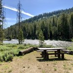 Salmon river campground sawtooth nf