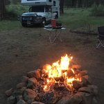 Metolius basin dry camp