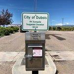 Dubois dump station