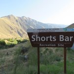 Shorts bar recreation site