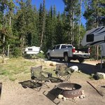 Lake view campground