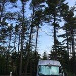 Manistique lakeshore campground