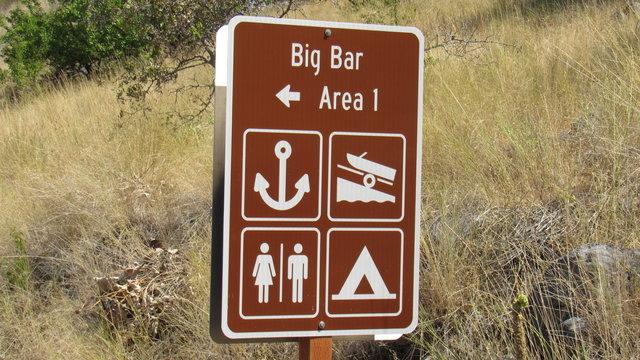 Big bar camping area