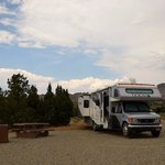 Diamondback trailhead campsite