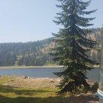 Goose lake camping area