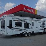Flying j travel plaza effingham il