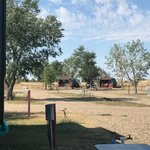 Badlands interior campground