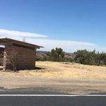 Pajarito rest area westbound