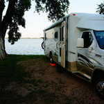 Inlet campground johnson lake sra