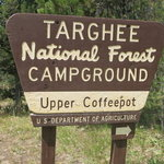 Upper coffeepot campground