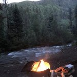 Miners cabin campground
