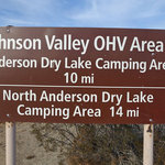 Anderson dry lake johnson valley ohv area