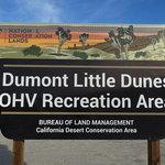 Little dumont dunes ohv area