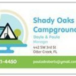 Shady oaks campground florida