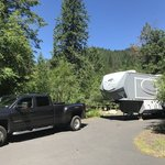 Wilderness gateway campground