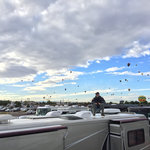 Balloon fiesta vip west lot