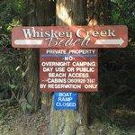 Whiskey creek beach nw