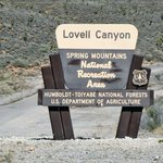 Lovell canyon road