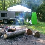 East otto state forest campground