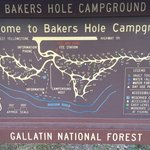 Bakers hole campground