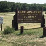Lake minatare dump station