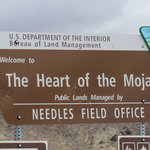 The heart of the mojave west
