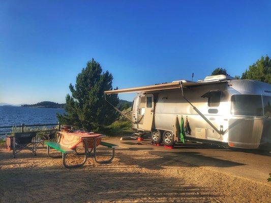 Sage bluff campground lake cascade sp