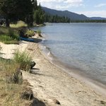 Huckleberry campground lake cascade sp