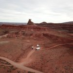 Mexican hat rock dispersed